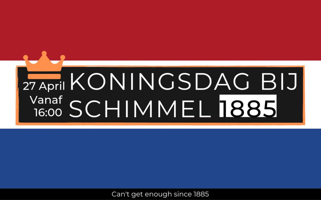 Koningsdag bij Schimmel 1885